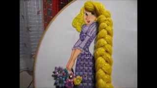 getlinkyoutube.com-puntada fantasia trenza rapunzel