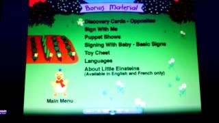 baby einstein- My First Signs