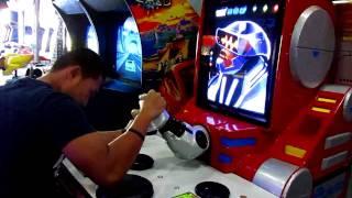 getlinkyoutube.com-Arm Wrestling Robot, Max Level