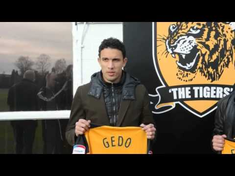 Hull City signings Gedo and Ahmed Fathi unveiled at KC Stadi