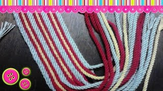 getlinkyoutube.com-Fajon o gasa tipo Wayuu 17 cordones