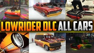 getlinkyoutube.com-GTA 5 Lowrider DLC Update - ALL CARS FULLY CUSTOMIZED - Over $8 Million Spent! (GTA 5 Lowriders)