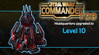 getlinkyoutube.com-Star Wars Commander Empire #123 - Headquarters Level 10