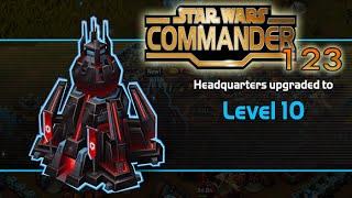 Star Wars Commander Empire #123 - Headquarters Level 10