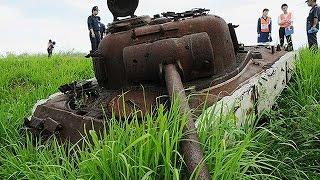 getlinkyoutube.com-硫黄島の戦跡を巡る=灼熱の地下壕、集団埋葬地