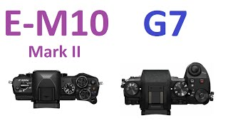 getlinkyoutube.com-Olympus OM-D E-M10 Mark II vs Panasonic Lumix DMC-G7