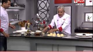 getlinkyoutube.com-برنامج المطبخ - سينابون رول - الشيف يسري خميس - Al-matbkh