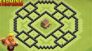 Clash of Clans Town Hall 8 (Th8) Best Farming Base