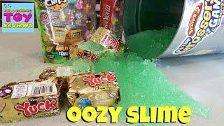 Slime Time Grossery Gang Trash Can Fun Gelli Baff Blind Bag Opening | PSToyReviews