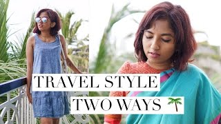 Travel Style Two Ways with Fashion Market LK // #WhatMagaliWore