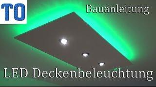 Trockenbau indirekte LED Beleuchtung Decke  Download ...