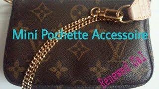 getlinkyoutube.com-Review LV Mini Pochette Accessoire as a crossbody