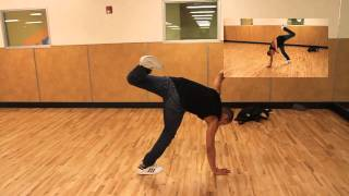How to do a 1990 spin- 90 breakdance tutorial