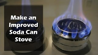 getlinkyoutube.com-How to Make a Soda Can Stove - Old vs Improved Design