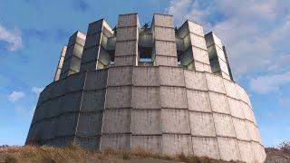 getlinkyoutube.com-Fallout 4 Coliseum Style Settlement (Building Curves)