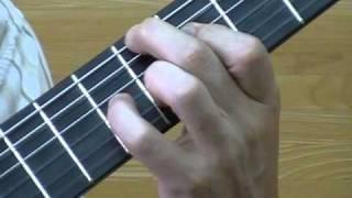 getlinkyoutube.com-島崎陶人 Classical Guitar Technic 左手の基本の動き