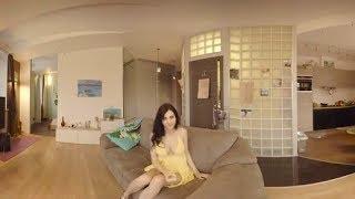 # 360 Graus, 360 Video Virtual Sexy Paquera Menina Margaret Para Capacetes E ócu