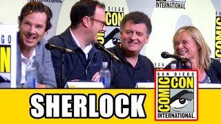 getlinkyoutube.com-SHERLOCK Comic Con 2016 Panel Highlights (Pt1) - Benedict Cumberbatch, Mark Gatiss, Amanda Abbington
