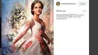 Emma Watson de novia en 'La Bella y la Bestia'