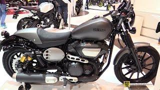2016 Yamaha XV950 Racer ABS - Walkaround - 2015 Salon de la Moto Paris