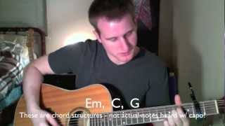 Our God - Chris Tomlin - Video Guitar Tutorial with Chords