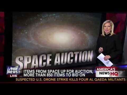 Space & Aviation Autograph & Artifact Auction from RR Auction