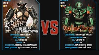 Real Steel WRB Underworld 2 Six Shooter VS Hollowjack NEW Super Battle