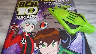 getlinkyoutube.com-Ben 10 Omniverse Spaceship Discs Shooter Toys Unboxing