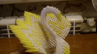 getlinkyoutube.com-3D Origami Diamond Pattern Peacock Tutorial