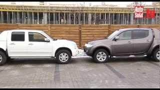 getlinkyoutube.com-Isuzu D-Max vs Mitsubishi L200 - Pikapy bez wad?