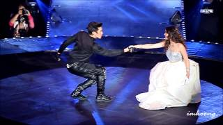 getlinkyoutube.com-[fancam] Nadech and YaYa @ Give Me 5 [20141025]