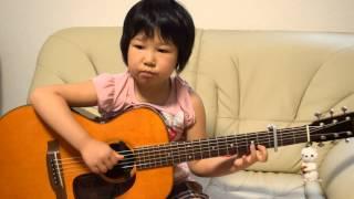 getlinkyoutube.com-やさしさに包まれたなら k.Yairi ソロギター 6才 D3200で撮りました。