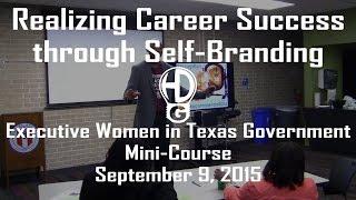 Executive Women in Texas Government Mini-Course - September 9, 2015 | HawkDG
