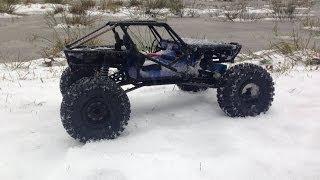 getlinkyoutube.com-Waterproof Axial Wraith First Run in First Snow
