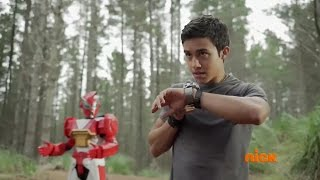 "getlinkyoutube.com-Power Rangers Ninja Steel Episode 1 ""Return of the Prism"" - Brody's Escape"