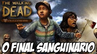 getlinkyoutube.com-The Walking Dead Game In Harm's Way - O Final Sanguinário