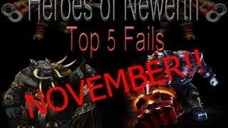Heroes of Newerth - Top 5 Fails November (by Enji)