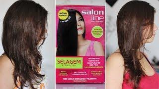 getlinkyoutube.com-Selagem Redutora - Salon Line | Cabelos sem Volume e Hidratados.
