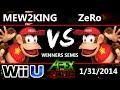 Apex 2015 - PL MVG | Mew2King Diddy Kong Vs. ZeRo Diddy, Falcon SSB4 WiS - Smash 4 - Smash Wii U