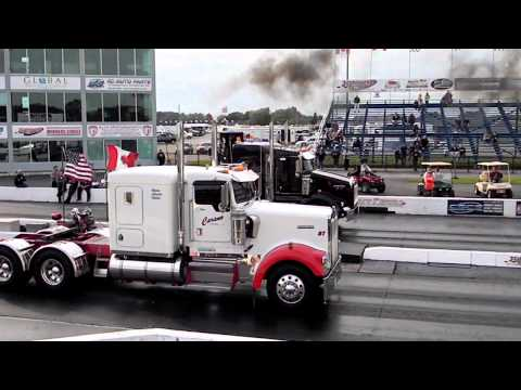 Semi's Drag racing