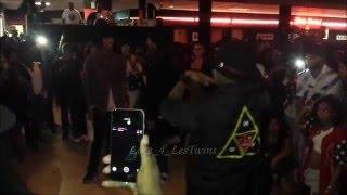 getlinkyoutube.com-Les Twins & BluPrint - Atlanta Workshop After Party Cypher