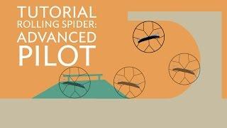 getlinkyoutube.com-Parrot Rolling Spider - Tutorial #3 - Advanced Piloting - Wheels & ace mode