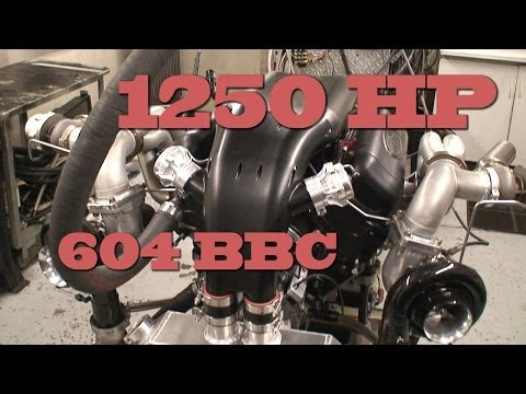 Mean 1250 HP 605 CI BBC with lots of low rpm torque.  Nelson Racing Engines.  NRE TV Episode 213.