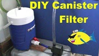 getlinkyoutube.com-How To Make: DIY Canister Filter (Aquarium Filter)