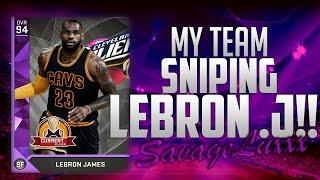getlinkyoutube.com-HOLY S**T SNIPING LEBRON JAMES! - NBA 2K16 MY TEAM - DUPE GLITCH!!!