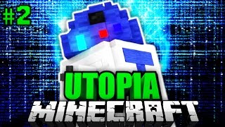 getlinkyoutube.com-DER LEGENDÄRE ROBOTER?! - Minecraft Utopia #002 [Deutsch/HD]