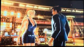 getlinkyoutube.com-Tekken Nina and Jin - Shut up i love you