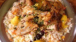 getlinkyoutube.com-مظبي بالدجاج بالفرن سريع ولذيذ من قناة المورزليرا (: