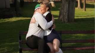 Schoolgirl gives birth while kissing!