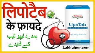Hamdard Lipotab to Reduce Cholesterol   हमदर्द लिपोटैब के फ़ायदे और इस्तेमाल